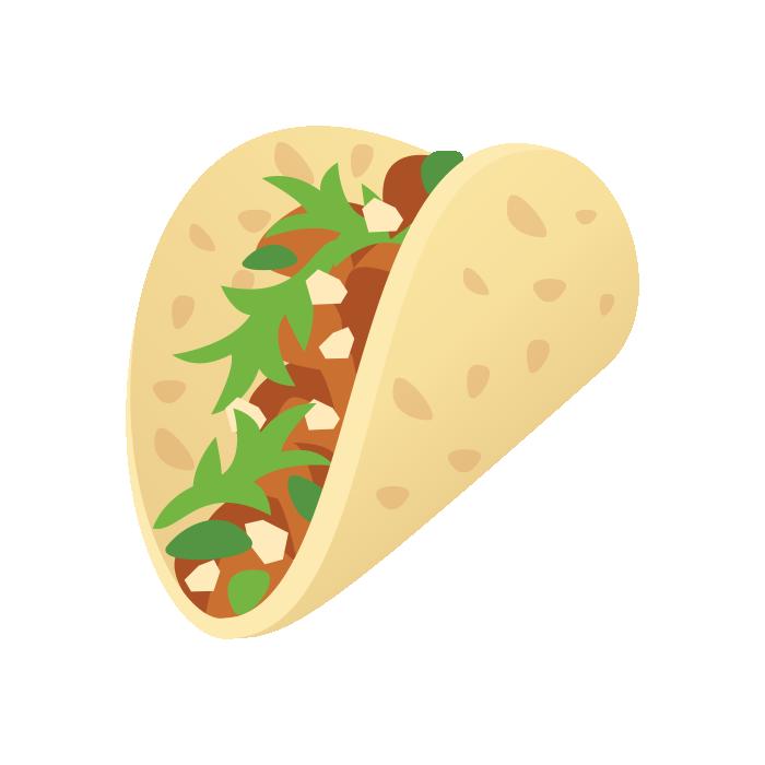 Emoji of Taco