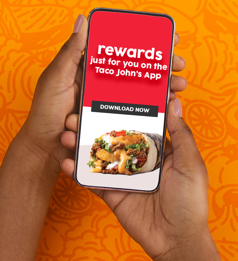 Download the Taco John's App
