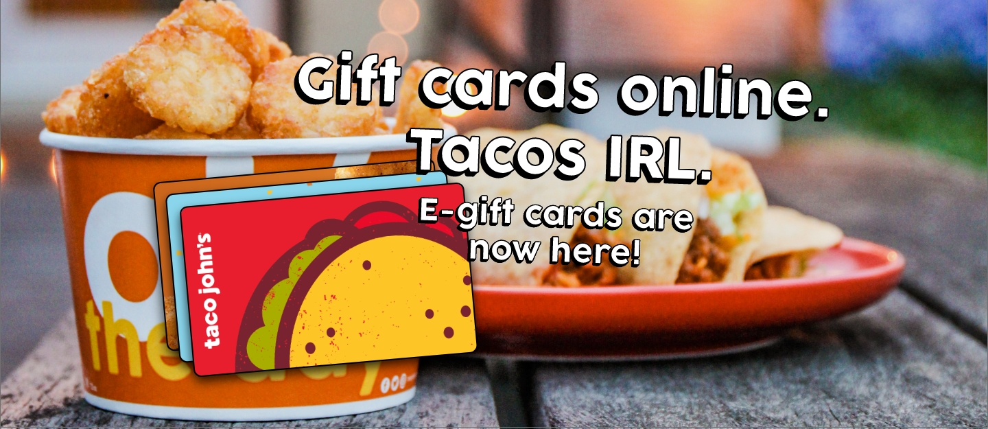 New E-Gift Cards!